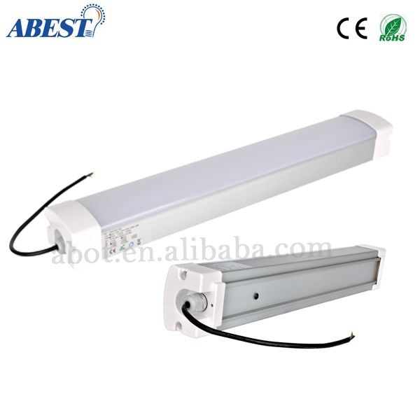 0.6m 1.2m 1.5m Led Tri-proof Light Linear Led Light Applied In Food Production Room,Warehouse,Underground Parking Lot