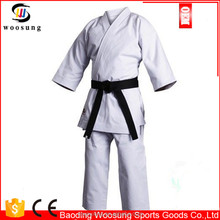 karate items canvas karate uniforms warna putih karate pakaian