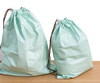 water resistant but washable tyvek drawstring bag