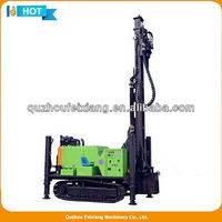 ZGSJ300 hydraulic water well drilling rig in machinery drill rigs water