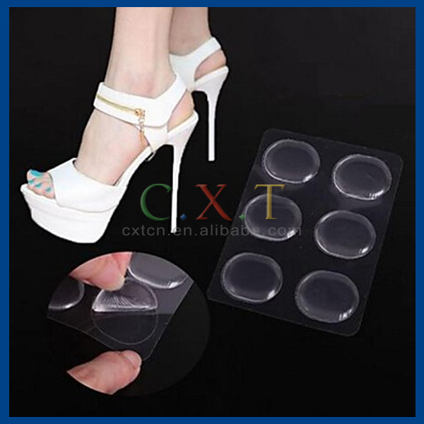 Transparent Silicone Insole High Heel Gel Pads Protector For Heels Rubbing Foot Care Tools Pedicure Gel Insoles