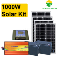 High effciency alternative energy 1000w solar panel kit