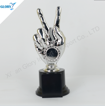 Awards Plastic Trophy Trophy Hand Cheap Trophy