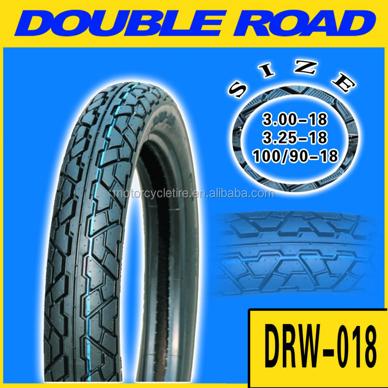 High rubber content motorcycle tyre dealer to panama market 100/90-18