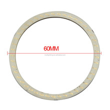 60mm LED SMD Head Running Day Light 80mm COB LED Angel eyes Halo Ring