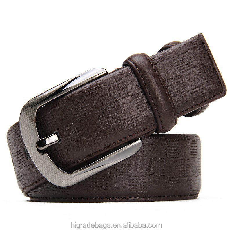 man fashionable cheap strong genuine leather belt men