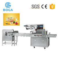 Automatic Ice Lollipop Wrapping Machine Flow machine for ice cream