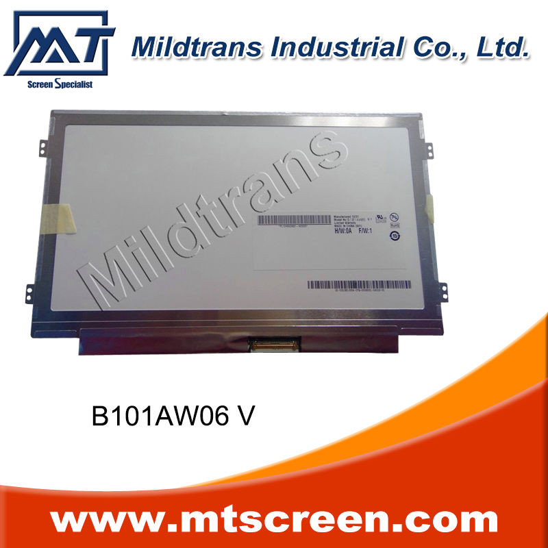 b101aw06 v.1 b101aw06 v.0 b101aw02 v.0 replacement screen for 10.1' laptop acer aspire one laptop led display