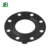 Black Round EPDM Rubber Flange Gasket With Hole