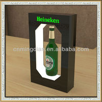 China supply magnetic floating bottle display,magnetic floating bottle display