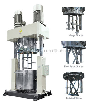 RTV sealant mixer with dispersing function