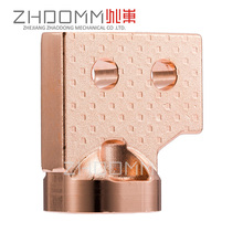 Closed die forging,Cold extrusion processing,forged copper fittings