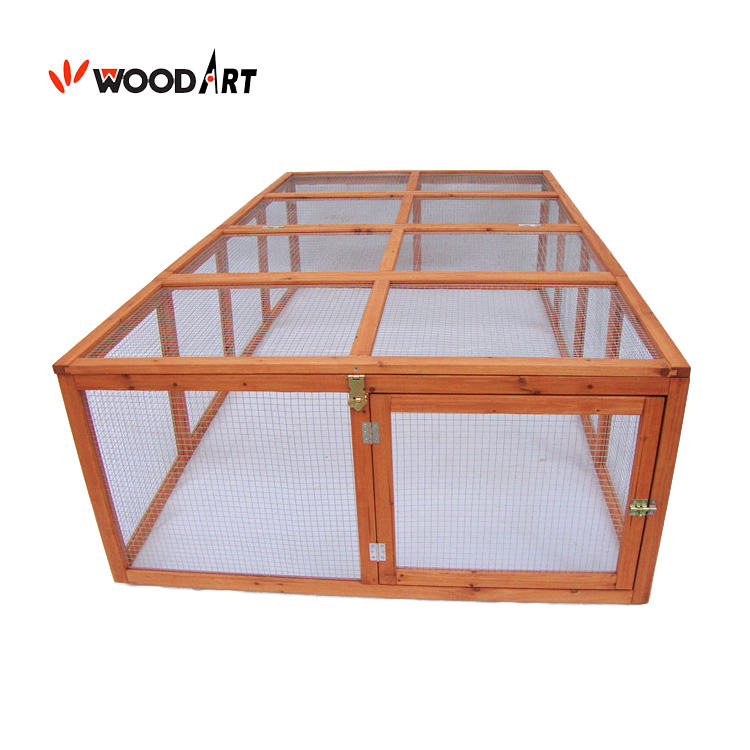 Industrial hutch used industrial indoor double rabbit cages for rabbit sale