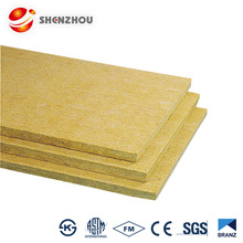 Fireproof and decorative building material sandwich panel Rock wool and as insulation