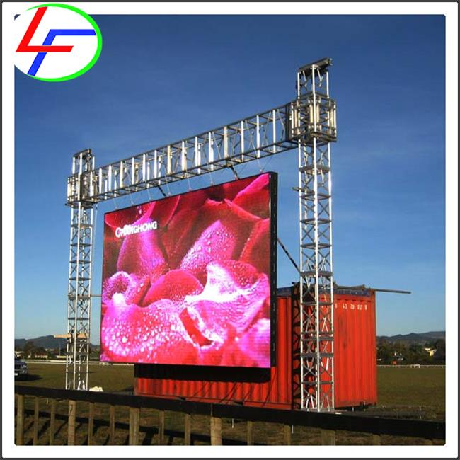 2016 new style wholesale square panel l 10ft x 12ft screen p16 led video display
