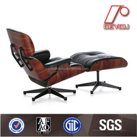 indoor comfortable leather chaise lounge chairs DU-388B