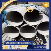 prime quality 304 316 430 201 stainless steel seamless pipe china supplier