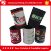 Promotional neoprene beer bottle holder with custom logo
