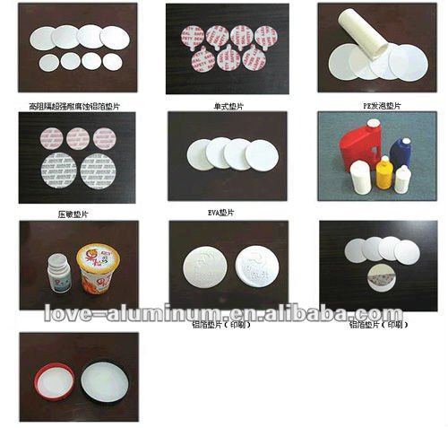 Yogurt cup aluminum foil cover/aluminum foil lid for yogurt
