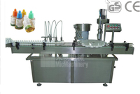 MIC-L40 electronic cigarette liquid filling and capping machine
