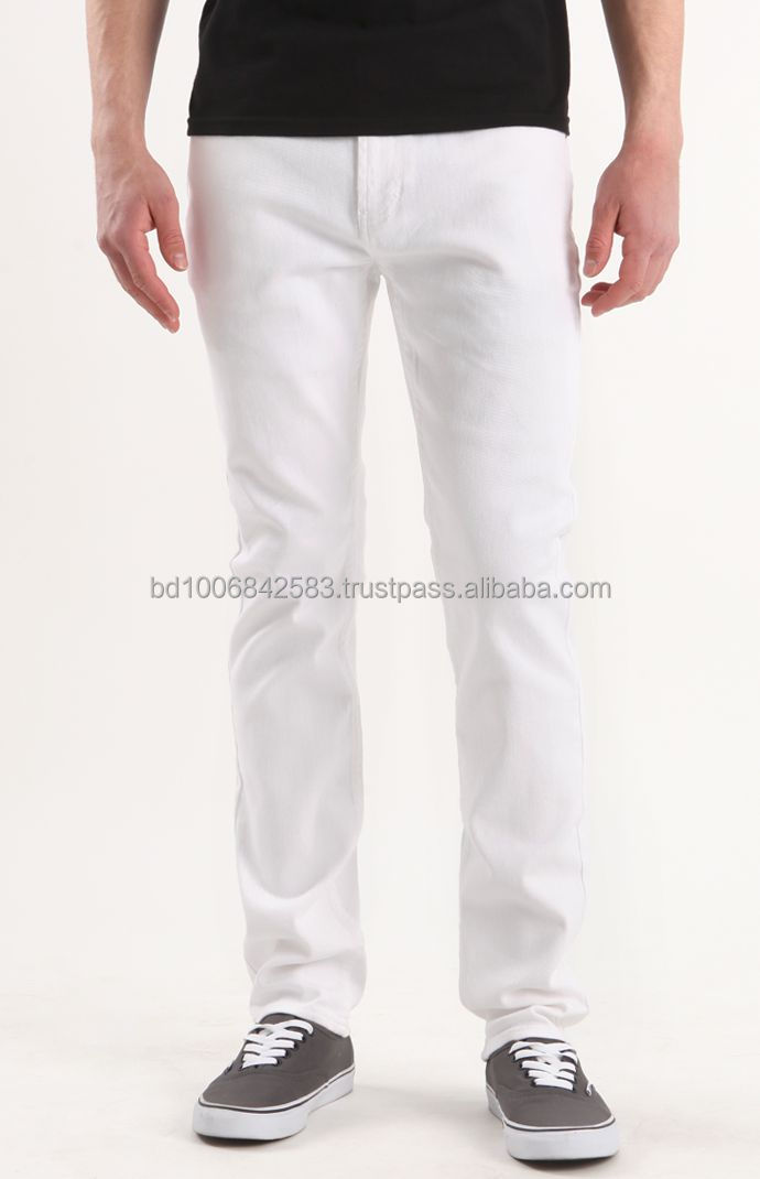 Fashionable Chino Pant for men, 100% cotton twill/canvas or 98% cotton 2% spandex wtill