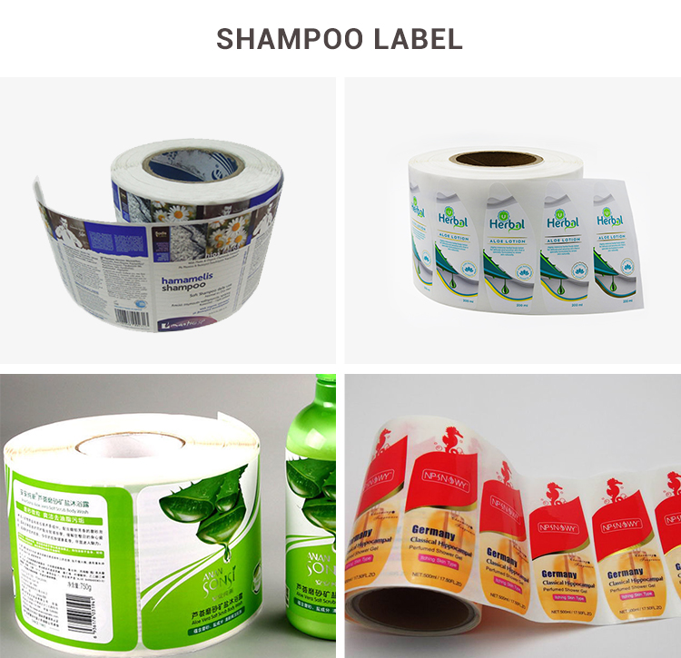 High quality custom logo silver PET partial adhesive glue sticker for packing