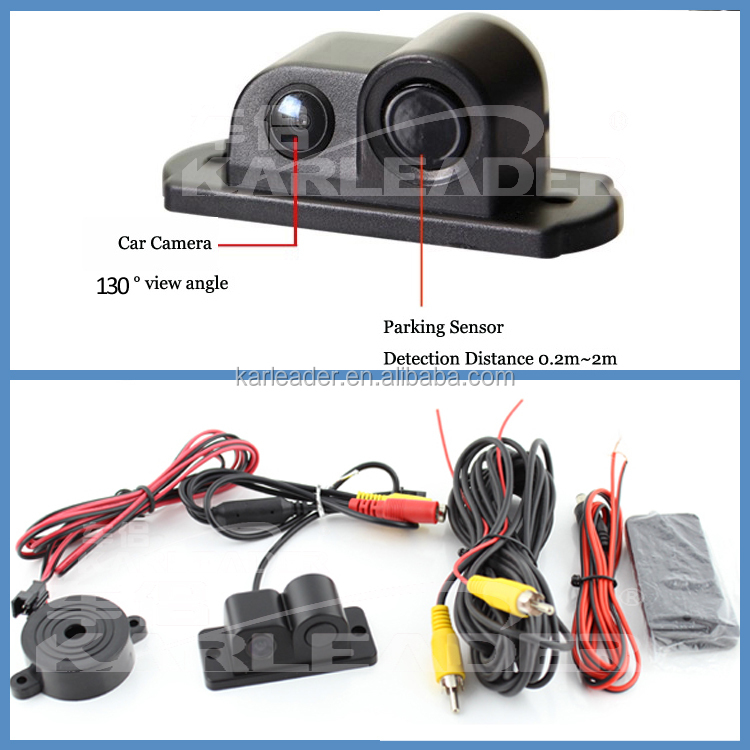 New arrival bluetooth reverse camera rearview mirror GPS Radar Parking Sensors Parking Video System Bluetooth