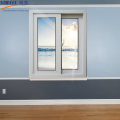 Fancy house plan decorative double glazed pvc sliding window