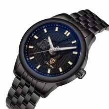 popular men top 10 wrist watch brands Tevise 9008G japan movement mechanical watch 2017 fitness watch