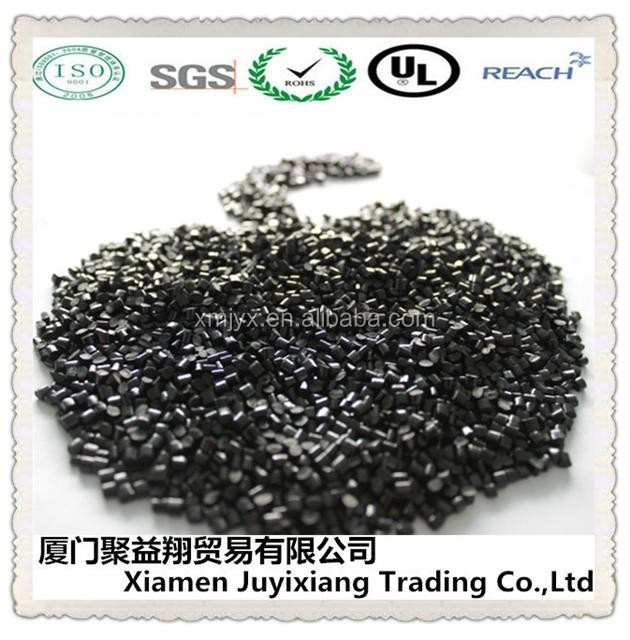 Recycled black ABS gf10 plastic pellets/ glass filled baled abs plastic scrap