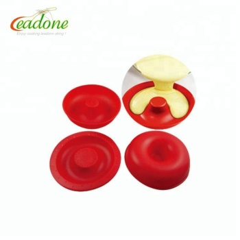2018 HOT Sell silicone big top doughnut cup cake molds