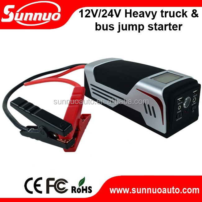 Factory compact(c) Car Jump Starter Booster 24v mini starter 24v power bank car jump starter tool kit