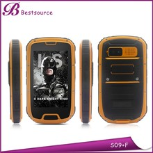 Police Use 4.3 inch MTK6589W quad core 1G 4G IPS screen rugged waterproof cell phone