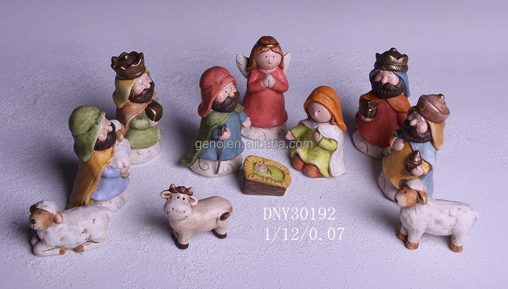 Hot selling indoor Christmas Nativity set of 11