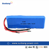 SUNB 18650 14.4v 12Ah 12000mAh e-bike lithium battery pack/used forklift battery
