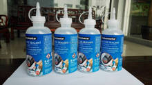No flats Sealant 250 ml for bicycle inner tyre with good price