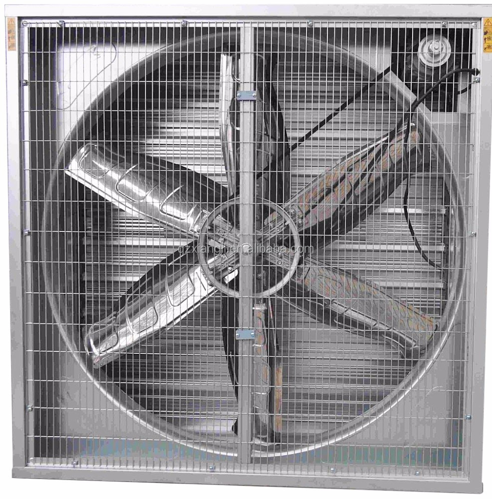 Industrial Ventilation Fans : Industrial poultry farm axial ventilation air exhaust fan