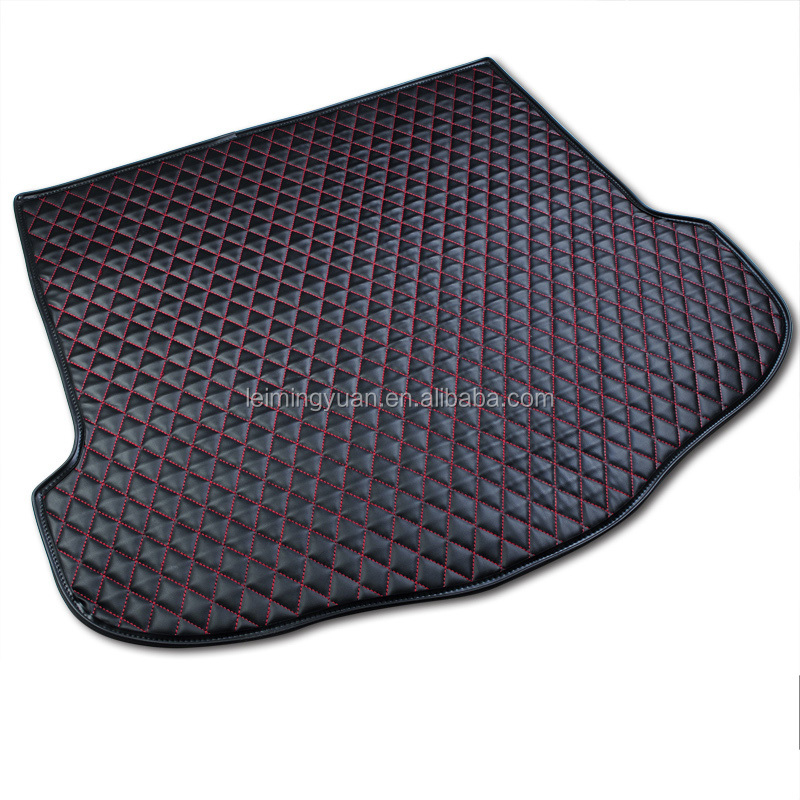 Wholesale waterproof full set 3d 5d car trunk mats trunk mats