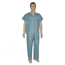 Medical Pajamas Scrubs Wholesale for Hospital Sing-use