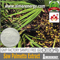 Pharmaceutical Grade enlarged prostate Saw Palmetto Extract Fatty acid 25%, 45% Saw Palmetto Extract Saw Palmetto Extract