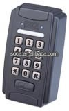 waterproof stand alone access control system