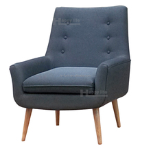 Fabric restaurant recliner single seater sofa chairs