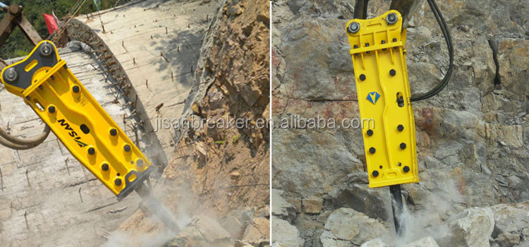 CE Certified Korean Quality PC400 PC450 Excavator Mounted Breaker Hydraulic Hammer