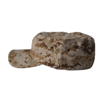 Wholesale camouflage patrol flat top military cap