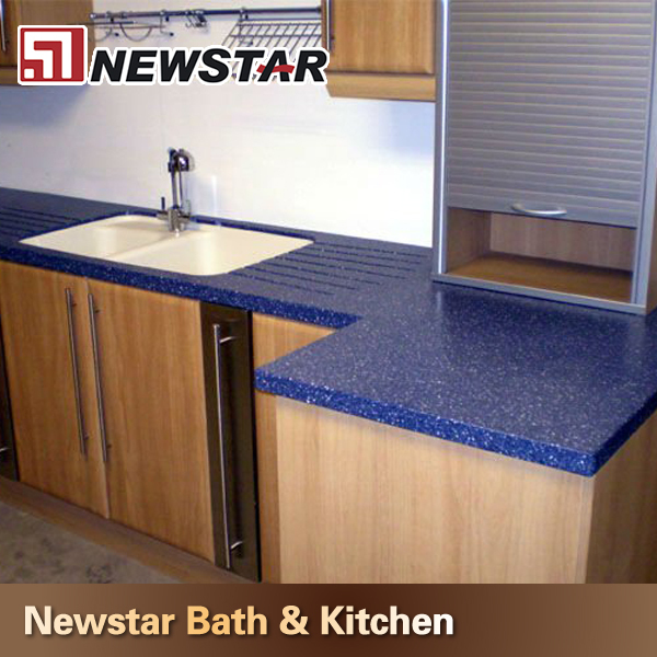 Kitchen Countertops Product : Kitchen design dark blue quartz countertops buy