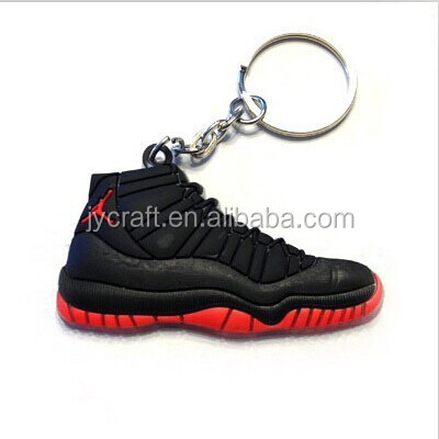 Custom 3D basketball shoes keychain