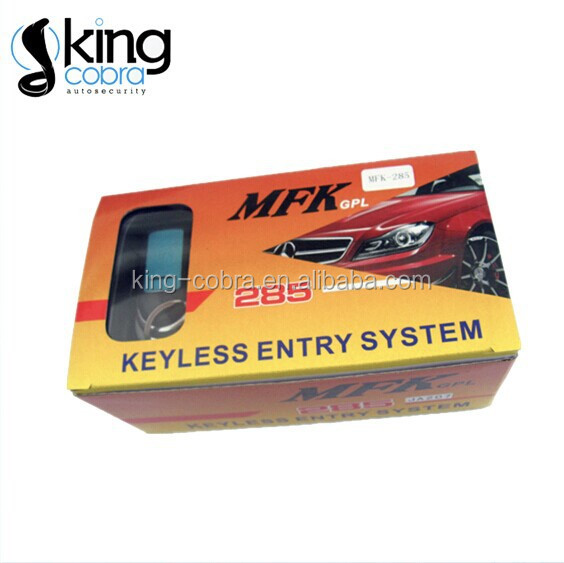 Morocco market MFK 285 car keyless entry system with trunk release and power window