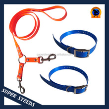 TPU dog leash with two dogs coupler waterproof for Park walking