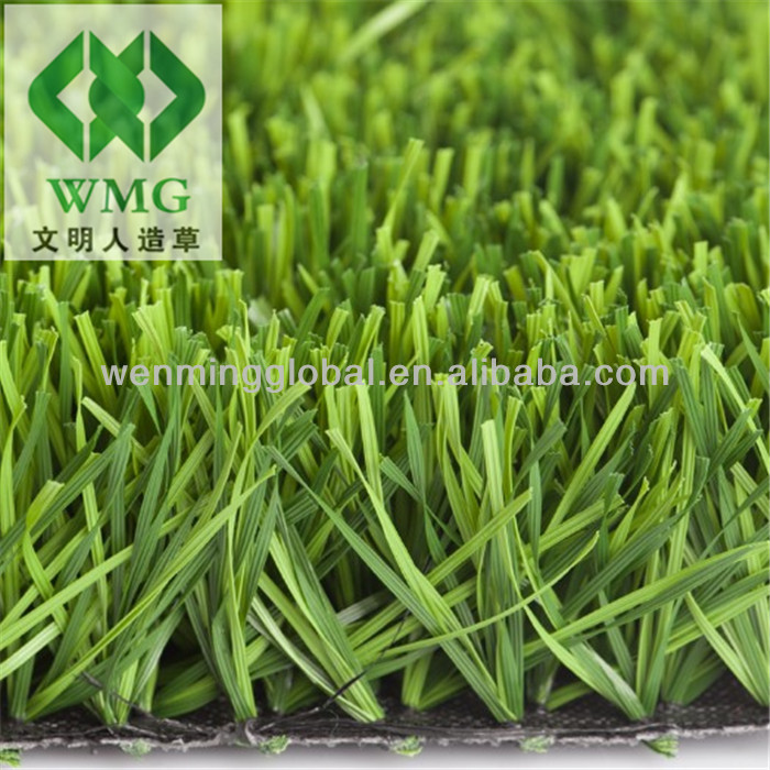 Supply High Quality Artificial Grass Olive Shape Monofil PE For Badminton Court