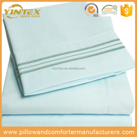 4pc Microfiber Bed Sheet set/Bed Linen Sheets/Egyptian Cotton Bedding Sets Manufacturer Directly